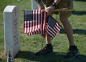 Setting flags for Memorial Day 5/26/2018