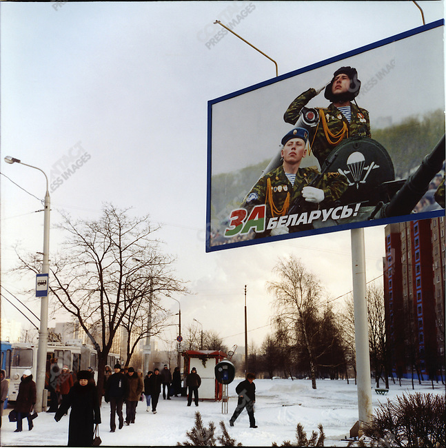 At time of presidential elections, Belarus, January 2006
