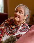 March 21, 2018. Tarboro, North Carolina.<br /> <br /> Sarah Peveler moved to Tarboro 10 years ago after she retired. Living alone, she uses a network of friends and social groups, as well as phone applications such as EyeOn,  to maintain connections and make sure she is checked in on periodically.