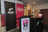 Pink Batts Heartland Championship 2013 season launch at Waikanae RFC, Waikanae, New Zealand on Tuesday, 13 August 2013. Photo: Dave Lintott / lintottphoto.co.nz
