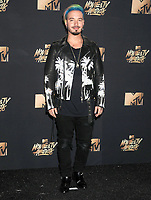 Colombian singer/songwriter J Balvin (Jose Alvaro Osorio Balvin) at the 2017 MTV Movie &amp; TV Awards at the Shrine Auditorium, Los Angeles, USA 07 May  2017<br /> Picture: Paul Smith/Featureflash/SilverHub 0208 004 5359 sales@silverhubmedia.com