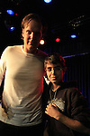 Israel, Joe Bonamassa with young fan Noam Isachar