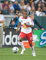 Dane Richards dribbles during MLS Cup 2008. Columbus Crew defeated the New York Red Bulls, 3-1, Sunday, November 23, 2008. Photo by John Todd/isiphotos.com