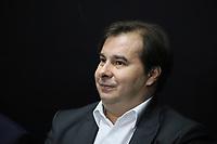 SÃO PAULO, SP, 08.11.2019 - POLITICA-SP - Rodrigo Maia, Presidente da Câmara dos Deputados, participa do anúncio da proposta do novo sistema de previdência dos servidores públicos do Estado de São Paulo, no Palácio dos Bandeirantes, em São Paulo, nesta sexta-feira, 8. (Foto Charles Sholl/Brazil Photo Press/Folhapress)