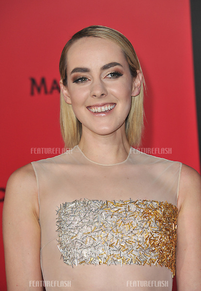 Jena Malone at the US premiere of her movie &quot;The Hunger Games: Catching Fire&quot; at the Nokia Theatre LA Live.<br /> November 18, 2013  Los Angeles, CA<br /> Picture: Paul Smith / Featureflash