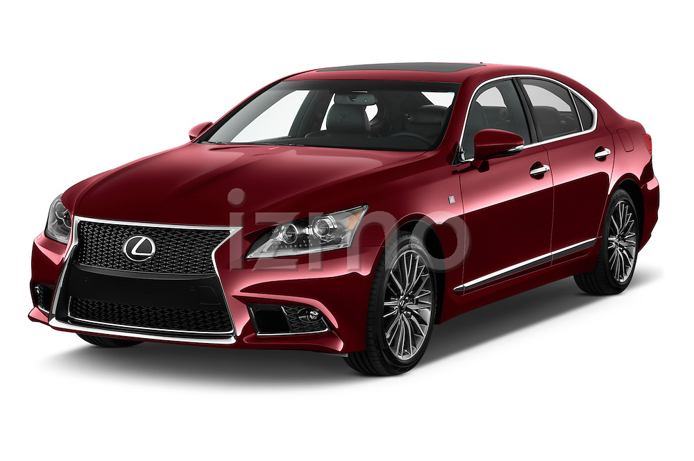 Front three quarter view of a 2013 Lexus LS 460 4dr Rear-Wheel Drive Sedan