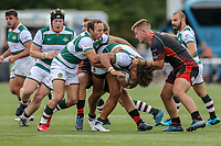 Guy Armitage of Ealing Trailfinders during the Friendly match between Ealing Trailfinders and Dragons  at Castle Bar , West Ealing , England  on 11 August 2018. Photo by David Horn / PRiME Media Images.