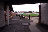 Pitch/Kop viewed from the underneath the south west stand.....© Phill Heywood.tel 07806 775649