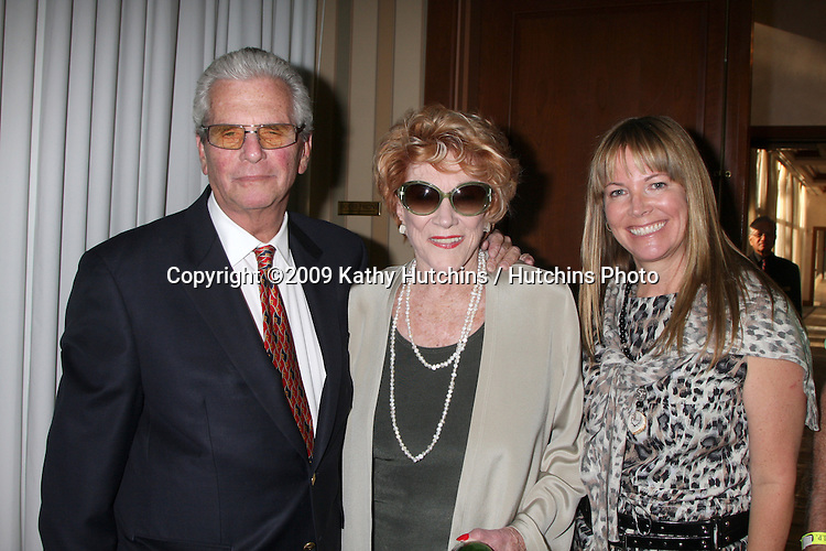 Paul Rauch, Jeanne Cooper, Maria Arena Bell  at The Young & the Restless Fan Club Dinner  at the Sheraton Universal Hotel in  Los Angeles, CA on August 28, 2009.©2009 Kathy Hutchins / Hutchins Photo.