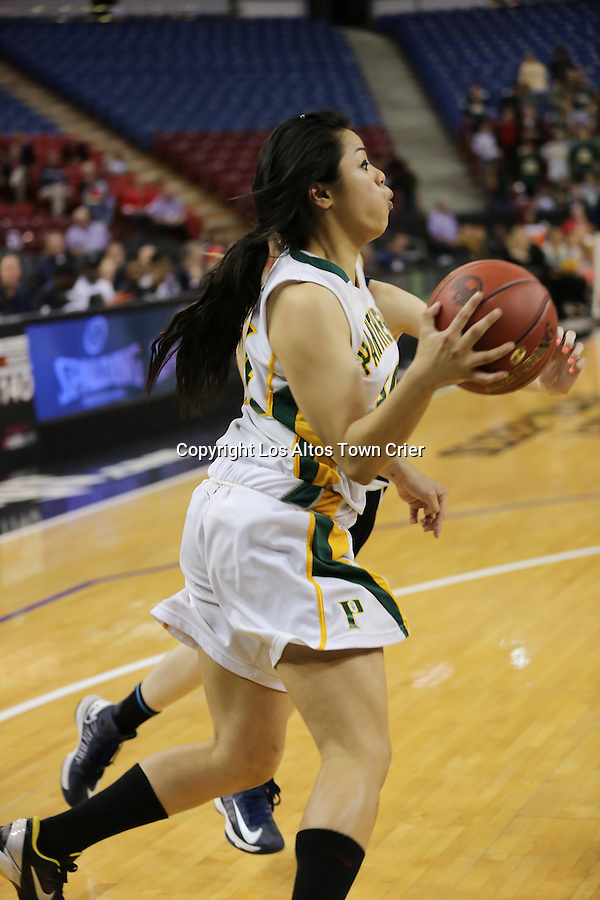 2013 CIF State Basketball Championships Division V Girls Pinewood School v. Sierra Canyon High School March 22, 2013 Sleep Train Arena Sacramento, CA Pinewood girls were defeated 47-33.
