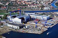 Deutschland, Mecklenburg- Vorpommern, Rostock, Warnow, Kvaerner Werft
