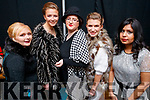 Tara Dwyer, Alexandra Schrader, Helen Edgar, Toria Horrobin and Kopal Tanbdon, models who took part in the St. Vincent De Paul Fashion Show, at Ballyroe Heights Hotel, Tralee, on Thursday, November 23rd last.