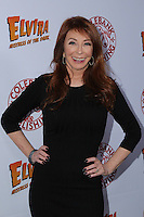 HOLLYWOOD, CA - OCTOBER 18: Cassandra Peterson attends the launch party for Cassandra Peterson's new book 'Elvira, Mistress Of The Dark' at the Hollywood Roosevelt Hotel on October 18, 2016 in Hollywood, California. (Credit: Parisa Afsahi/MediaPunch).