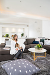 Home & Life Magazine, My Place with Sonia Bavistock at Her Home in Goodwood. Photo Nick Clayton.