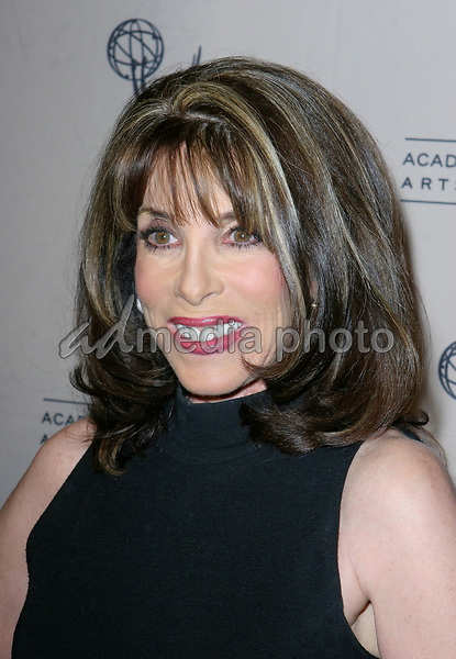 Kate Linder  arrives  at the The Academy of Television Arts Sciences Hall Fame Ceremony
