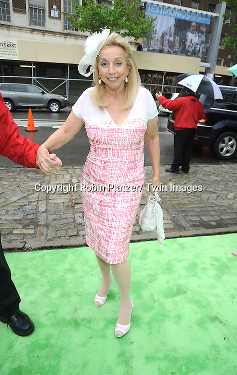 Eleanora Kennedy arrives at The Central Park Conservancy Luncheon on May 2, 2012 at the Central Park 's Conservatory Garden in New York City.