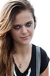 grunge girl posing