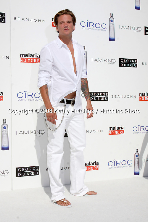 "Sean Stewart arriving at the Annual White Party hosted by Sean ""Diddy"" Combs & Ashton Kutcher in Beverly Hills, CA on July 4, 2009 .©2008 Kathy Hutchins / Hutchins Photo.."