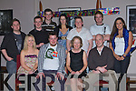Alan O'Leary Woodlawn Killarney who celebrated his 21st birthday with his family and friends in the Granary bar Killarney Saturday night front row l-r: Orela, Alan, Mary, Enda O'Leary. Back row: Phil Kennedy, Michael Barrett, Chris Morris, Tara Fennell, Eugene O'Leary, Chris Riordan and Laura Behane .