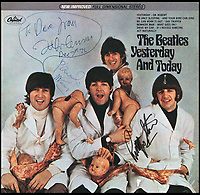 Million dollar Beatles album cover owned by Lennon.
