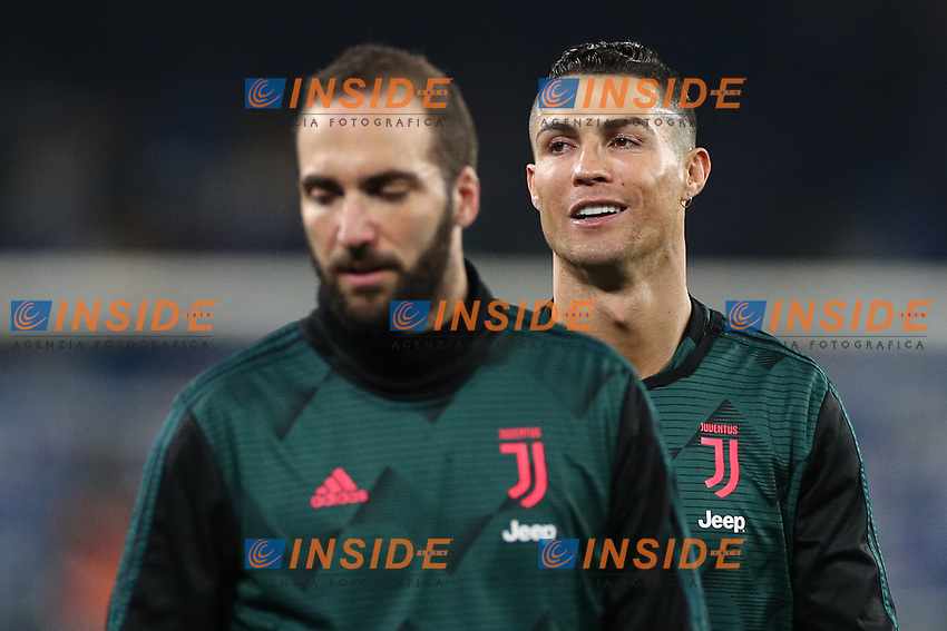 Cristiano Ronaldo of Juventus during the warm up<br /> Napoli 26-01-2020 Stadio San Paolo <br /> Football Serie A 2019/2020 SSC Napoli - Juventus FC<br /> Photo Cesare Purini / Insidefoto