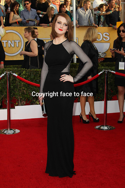 LOS ANGELES, CA - JANUARY 18: Sophie McShera attending the 2014 SAG Awards in Los Angeles, California on January 18, 2014.<br /> Credit: RTNUPA/MediaPunch<br />