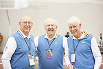 COLLEGE STATION, TX - MARCH 11: Officials are photographed during the Division I Men's and Women's Indoor Track & Field Championship held at the Gilliam Indoor Track Stadium on the Texas A&M University campus on March 11, 2017 in College Station, Texas. (Photo by Michael Starghill/NCAA Photos/NCAA Photos via Getty Images)