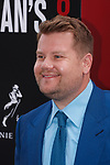 James Corden arrives at the World Premiere of Ocean's 8 at Alice Tully Hall in New York City, on June 5, 2018.