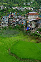 Banaue Town, Mountain Province Rice Terraces Philippines