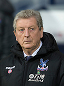 2nd December 2017, The Hawthorns, West Bromwich, England; EPL Premier League football, West Bromwich Albion versus Crystal Palace; Crystal Palace Manager Roy Hodgson in the team dug out before the match