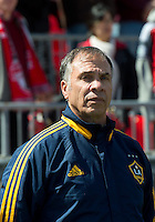 30 March 2013: LA Galaxy head coach Bruce Arena during an MLS game between the LA Galaxy and Toronto FC at BMO Field in Toronto, Ontario Canada..The game ended in a 2-2 draw..