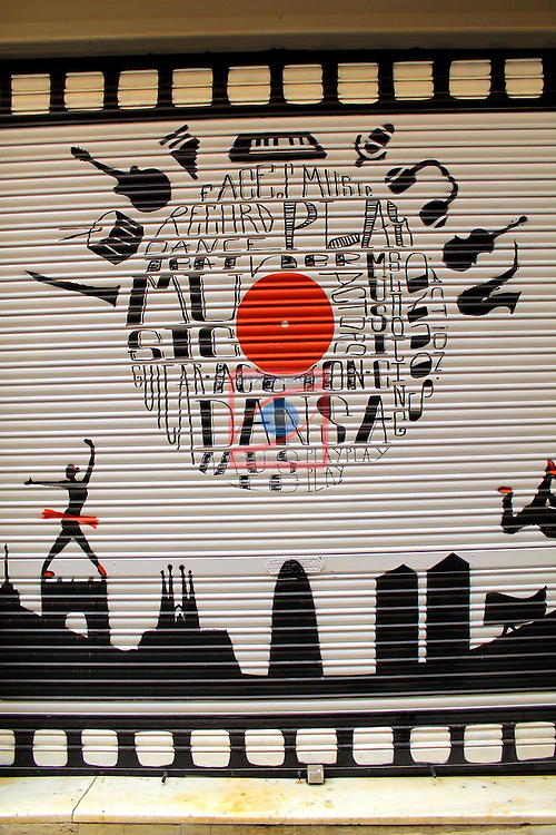 Street Art-Graffittis.<br /> Barcelona - Sarria (Sarria-Sant Gervasi).