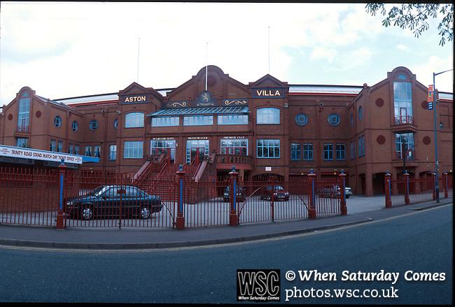 Viila Park, Birmingham. Home of Aston Villa FC. Photo by Tony Davis