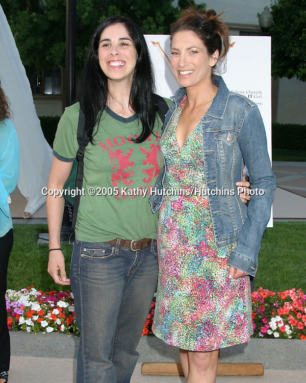 Sarah Silverman.and her sister.Laura Silverman.The Comeback Premiere.HBO Series.Los Angeles, CA.June 1, 2005.©2005 Kathy Hutchins / Hutchins Photo