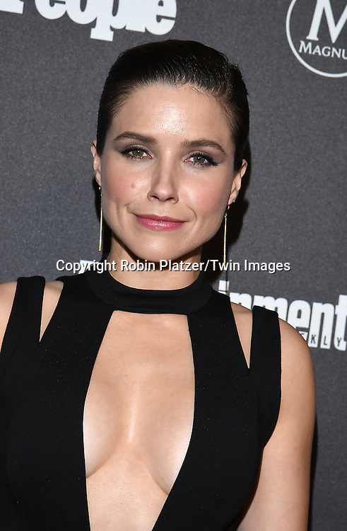 Sophia Bush attends the Entertainment Weekly &amp; PEOPLE Magazine New York Upfronts Celebration on May 16, 2016 at Cedar Lake in New York, New York, USA.<br /> <br /> photo by Robin Platzer/Twin Images<br />  <br /> phone number 212-935-0770