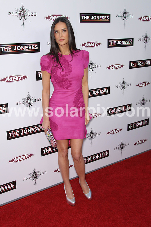 **ALL ROUND PICTURES FROM SOLARPIX.COM**.**SYNDICATION RIGHTS FOR UK, AUSTRALIA, DENMARK, PORTUGAL, S. AFRICA, SPAIN & DUBAI (U.A.E) & ASIA (EXCLUDING JAPAN) ONLY**.The Joneses Los Angeles Premiere - Arrivals, Arclight Hollywood, CA, USA, 8th April 2010.This pic: Demi Moore.JOB REF: 11057    PHZ hatcher    DATE: 08_o4_2010.**MUST CREDIT SOLARPIX.COM OR DOUBLE FEE WILL BE CHARGED**.**MUST NOTIFY SOLARPIX OF ONLINE USAGE**.**CALL US ON: +34 952 811 768 or LOW RATE FROM UK 0844 617 7637**