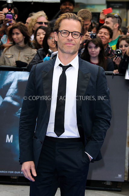 WWW.ACEPIXS.COM . . . . .  ..... . . . . US SALES ONLY . . . . .....May 31 2012, London....Guy Pearce at the premiere of 'Prometheus' held at the Empire Leicester Square on May 31 2012 in London....Please byline: FAMOUS-ACE PICTURES... . . . .  ....Ace Pictures, Inc:  ..Tel: (212) 243-8787..e-mail: info@acepixs.com..web: http://www.acepixs.com