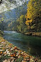 Europe/France/Franche-Comté/25/Doubs/Vuillafans: La vallée de la Loue