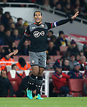Southampton's Virgil Van Dijk in action during the EFL Cup match at the Emirates Stadium, London. Picture date October 30th, 2016 Pic David Klein/Sportimage
