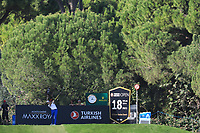 Oliver Wilson (ENG) during the final round of the Turkish Airlines Open, Montgomerie Maxx Royal Golf Club, Belek, Turkey. 10/11/2019<br /> Picture: Golffile | Phil INGLIS<br /> <br /> <br /> All photo usage must carry mandatory copyright credit (© Golffile | Phil INGLIS)