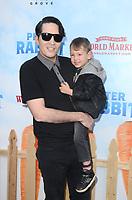 LOS ANGELES, CA - FEBRUARY 03: David Dastmalchian at the premiere of Columbia Pictures' 'Peter Rabbit' at The Grove on February 3, 2018 in Los Angeles, California. <br /> CAP/MPI/DE<br /> &copy;DE//MPI/Capital Pictures
