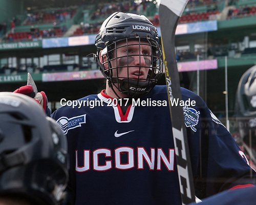 - The University of Maine Black Bears defeated the University of Connecticut Huskies 4-0 at Fenway Park on Saturday, January 14, 2017, in Boston, Massachusetts.