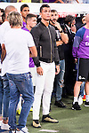 Real Madrid's player Cristiano Ronaldo during the XXXVII Santiago Bernabeu Trophy in Madrid. August 16, Spain. 2016. (ALTERPHOTOS/BorjaB.Hojas)