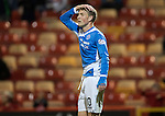 Aberdeen v St Johnstone&hellip;22.09.16.. Pittodrie..  Betfred Cup<br />David Wotherspoon reacts to his goal being disallowed<br />Picture by Graeme Hart.<br />Copyright Perthshire Picture Agency<br />Tel: 01738 623350  Mobile: 07990 594431