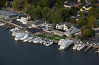 aerial photograph Saugatuck, Michigan