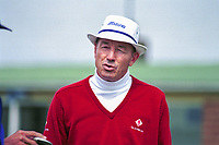 Tommy Horton, professional golfer, England, UK. Taken August 1998 at British Seniors Championship held at Royal Portrush. Ref: 199808013.<br /> <br /> Copyright Image from Victor Patterson,<br /> 54 Dorchester Park, <br /> Belfast, UK, BT9 6RJ <br /> <br /> t1: +44 28 9066 1296 (from Rep of Ireland 048 90661296)<br /> t2: +44 28 9002 2446 (from Rep of Ireland 048 9002 2446)<br /> <br /> m: +44 7802 353836<br /> <br /> e: victorpatterson@me.com<br /> www.victorpatterson.com<br /> <br /> Please see my Terms and Conditions of Use at www.victorpatterson.com. It is IMPORTANT that you familiarise yourself with them.<br /> <br /> Images used on the Internet must be visibly watermarked i.e. © Victor Patterson<br /> within the body of the image and copyright metadata must not be deleted. Images <br /> used on the Internet have a size restriction of 4kbs and will be chargeable at current<br />  NUJ rates unless agreed otherwise.<br /> <br /> This image is only available for the use of the download recipient i.e. television station, newspaper, magazine, book publisher, etc, and must not be passed on to any third <br /> party. It is also downloaded on condition that each and every usage is notified within 7 days to victorpatterson@me.com<br /> <br /> The right of Victor Patterson to be identified as the author is asserted in accordance with The Copyright Designs And Patents Act (1988). All moral rights are asserted.