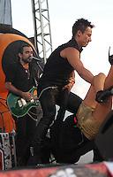 La cantante Maite Perroni durante su presentacion en el concierto Exa 2013 en Leon Guanajuato.<br /> (*Foto:TiradorTercero/NortePhoto*)