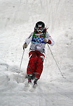 VANCOUVER, BC - FEBRUARY 13:  Aiko Uemura of Japan competes during the Women's Freestyle Mogul Prelims at the 2010 Vancouver Winter Olympics at Cypress Mountain on February 13, 2010 in Vancouver, Canada. (Photo by Donald Miralle)