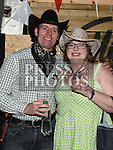 Joe and Laura Leathman at the Hoedown in Lobinstown held at Meade Potato Company. Photo:Colin Bell/pressphotos.ie