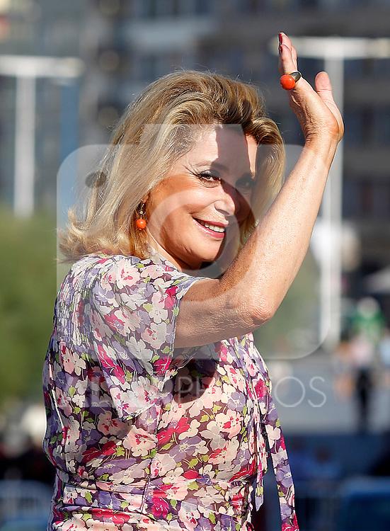 Catherine Deneuve during the 59th San Sebastian Donostia International Film Festival - Zinemaldia.September 21,2011.(ALTERPHOTOS/ALFAQUI/Acero)